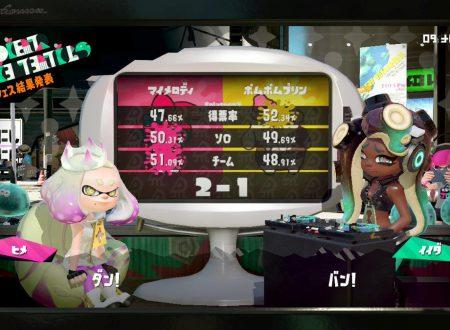 Splatoon 2: svelati i risultati dello Splatfest giapponese, My Melody vs. Pompompurin, in collaborazione con Sanrio