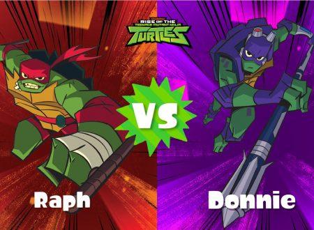 Splatoon 2: svelato il round finale dello Splatfest europeo ed americano, Teenage Mutant Ninja Turtles: Raffaello vs. Donatello?