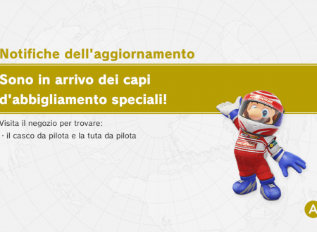 Super Mario Odyssey: il casco e la tuta di pilota ora disponibili nel titolo