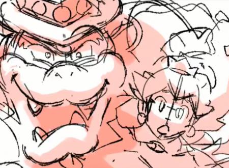 Super Mario Odyssey: mostrate le immagini dello Storyboard dell'opening
