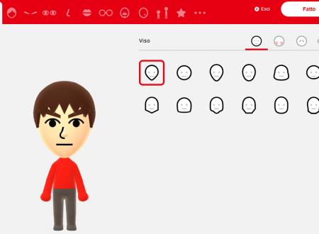 Il Mii Studio è da ora disponibile sul sito ufficiale di Nintendo