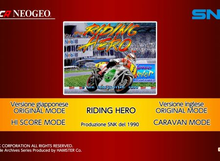 ACA NEOGEO Riding Hero: uno sguardo in video al titolo dai Nintendo Switch europei