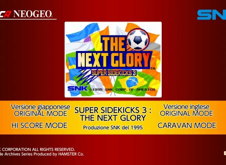 ACA NEOGEO Super Sidekicks 3: uno sguardo in video al titolo dai Nintendo Switch europei