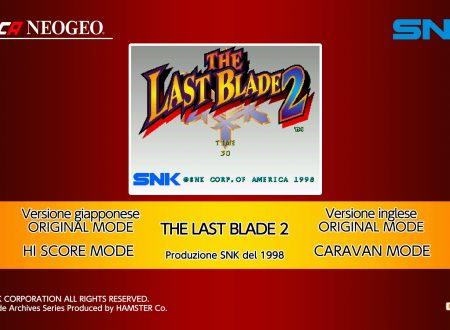 ACA NEOGEO The Last Blade 2: uno sguardo in video al titolo dai Nintendo Switch europei