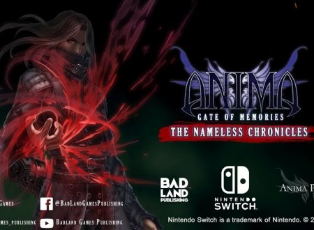 Anima: Gate of Memories e Anima: Gate of Memories – The Nameless Chronicles sono in arrivo su Nintendo Switch