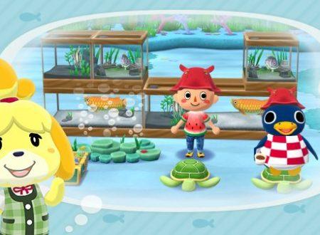 Animal Crossing: Pocket Camp, svelato l'arrivo nelle prossime ore di un ospite nel fiume Escapesca