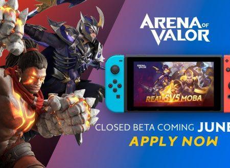 Arena of Valor: la nuova closed beta è in arrivo il 28 giugno su Nintendo Switch