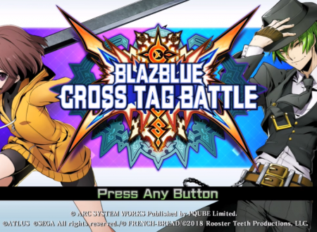 BlazBlue: Cross Tag Battle, i primi 44 minuti di video gameplay del titolo dai Nintendo Switch europei