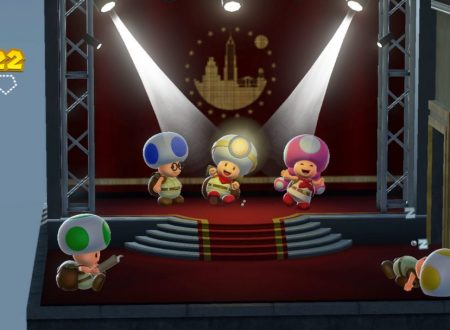 Captain Toad: Treasure Tracker, i livelli di Super Mario Odyssey sostituiranno quelli di Super Mario 3D World su Nintendo Switch