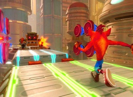 Crash Bandicoot N. Sane Trilogy: mostrato un video gameplay sullo stage di Future Tense