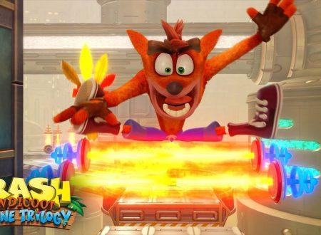 Crash Bandicoot N. Sane Trilogy: rivelato il nuovo stage Future Tense, in arrivo il 29 giugno