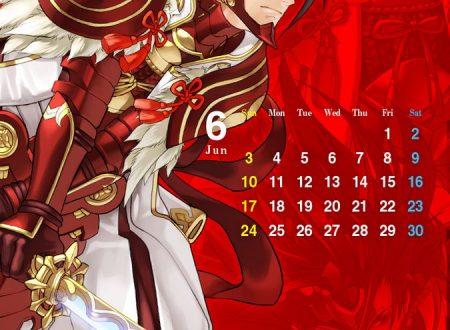Fire Emblem Heroes: ora disponibile lo sfondo calendario di Ryoma del mese di giugno