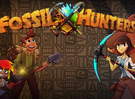Fossil Hunters: pubblicato il trailer di lancio del titolo su Nintendo Switch