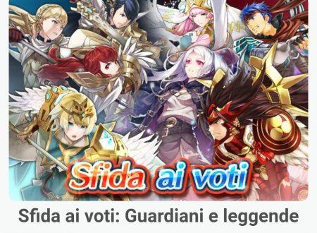 Fire Emblem Heroes: ora disponibile la sfida ai voti: Guardiani e leggende
