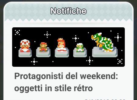 Super Mario Run: disponibili gli oggetti in stile retrò, protagonisti del weekend