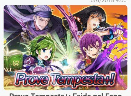 Fire Emblem Heroes: ora disponibili Prove Tempesta+: Faide nel Fang