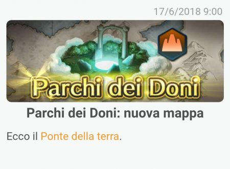 Fire Emblem Heroes: la mappa Ponte della terra è ora disponibile nei Parchi dei Doni