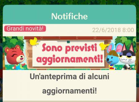 Animal Crossing: Pocket Camp, tutte le novità del prossimo aggiornamento, presto disponibile