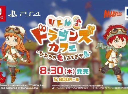 Little Dragons Café: pubblicato un nuovo trailer giapponese sul titolo