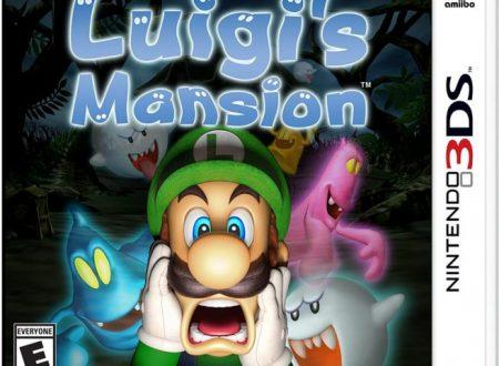 Luigi's Mansion: mostrata la boxart americana del titolo su Nintendo 3DS