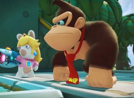 Mario + Rabbids Kingdom Battle Donkey Kong Adventure è in arrivo il 26 giugno sui Nintendo Switch europei