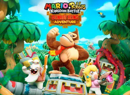 Mario + Rabbids Kingdom Battle Donkey Kong Adventure, pubblicato il trailer di lancio del DLC
