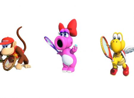 Mario Tennis Aces: confermata la presenza di Diddy Kong, Birdo e Paratroopa