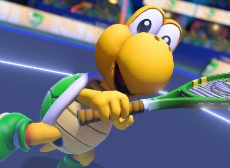 Mario Tennis Aces: pubblicati due nuovi trailer dedicati a Koopa Troopa e Calamako