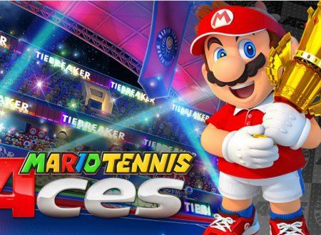 Mario Tennis Aces: punti d'oro doppi per il pre-download del titolo dall'eShop europeo di Nintendo Switch