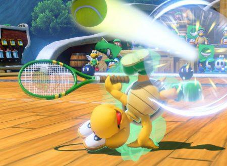 Mario Tennis Aces: svelata la patch del Day One, che sbloccherà le funzionalità online del titolo