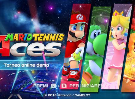 Mario Tennis Aces: uno sguardo in video alla demo del torneo online pre-lancio