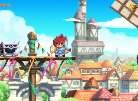 Monster Boy and the Cursed Kingdom, pubblicato un gameplay del titolo su Nintendo Switch