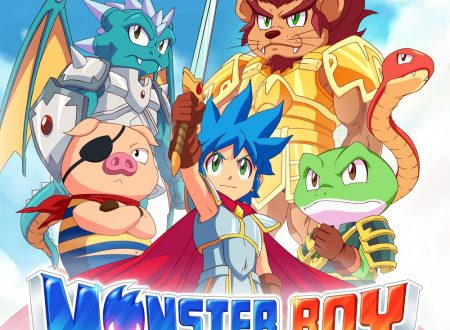 Monster Boy and the Cursed Kingdom, il titolo girerà a 60fps sia in modalità fissa che portatile su Nintendo Switch
