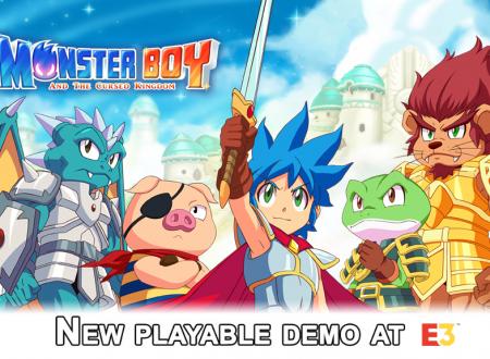 Monster Boy and the Cursed Kingdom, la versione Nintendo Switch sarà giocabile durante l'E3 2018