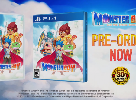Monster Boy and the Cursed Kingdom, pubblicato il trailer dell'E3 2018