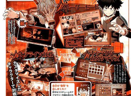 My Hero One's Justice: rivelata la Story e Villain Mode, personalizzazione dei personaggi e battaglie online
