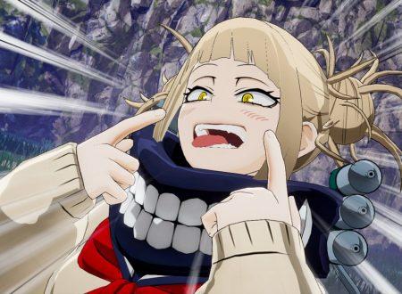 My Hero One's Justice: i nuovi screenshots mostrano due nuovi personaggi, Dabi e Himiko Toga