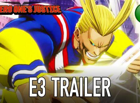 My Hero One's Justice: pubblicato il trailer dell'E3 2018 sul titolo
