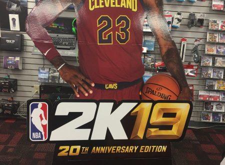 NBA 2K19: il titolo è confermato per l'arrivo anche su Nintendo Switch