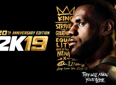 "NBA 2K19: pubblicato un nuovo trailer denominato ""Take the Crown"""