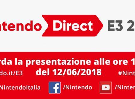 Nintendo Direct: E3 2018, link e video della diretta livestream di Nintendo