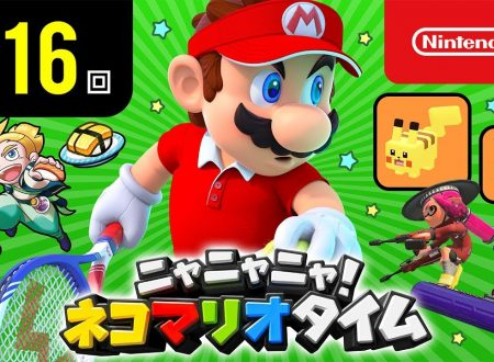 Nyannyan Neko Mario Time: pubblicato l'episodio 116 dello show felino con Mario e Peach