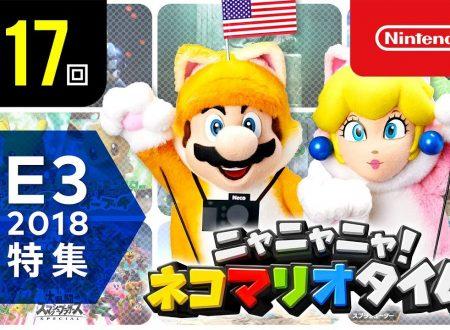 Nyannyan Neko Mario Time: pubblicato l'episodio 117 dello show felino con Mario e Peach