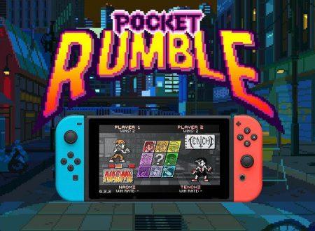 Pocket Rumble: il titolo è finalmente in arrivo il 5 luglio sull'eShop di Nintendo Switch
