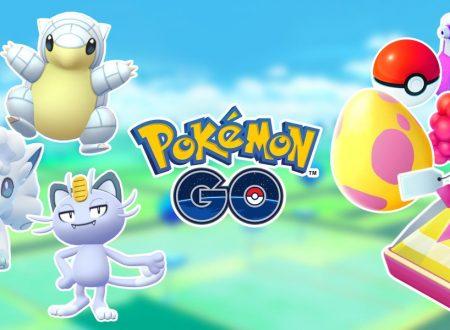 Pokèmon GO: Sandshrew, Meowth e Vulpix Alola, sono ora disponibili nelle uova