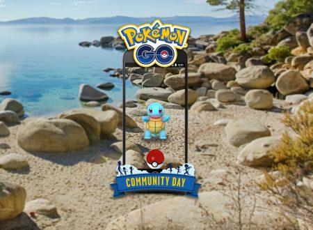 Pokèmon GO: Squirtle sarà il protagonista del Community Day del prossimo 8 luglio