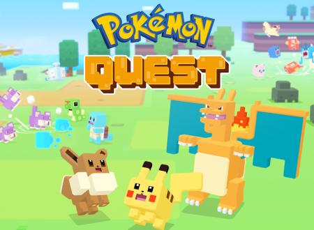 Pokèmon Quest: il titolo aggiornato alla versione 1.0.2 su Android e iOS