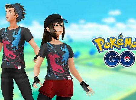 Pokemon GO: disponibili delle nuove T-Shirt dedicate a Latias e Latios
