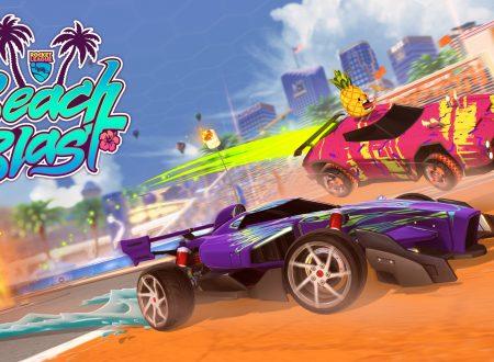 Rocket League: l'evento Beach Blast, in arrivo l'11 giugno anche su Nintendo Switch