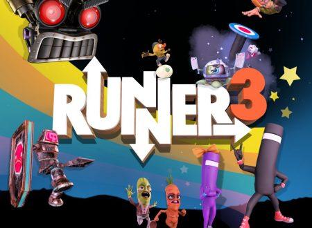 Runner3: il titolo aggiornato alla versione 1.0.1 sui Nintendo Switch europei